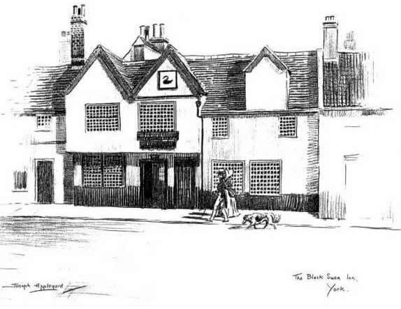 "the black swan york. ""THE &squot;BLACK SWAN&squot;, PEASHOLME GREEN, YORK"""